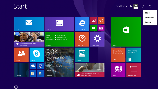 Start-screen-new-menu-Shutdown