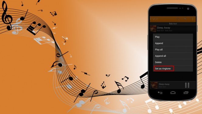 Personalize o toque do Android com sua música favorita!