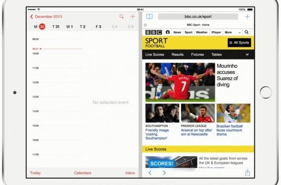 iOS 8 pode trazer tela multitarefa a partir do iPad