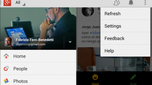Como mandar o Google+ parar o upload de fotos do Android