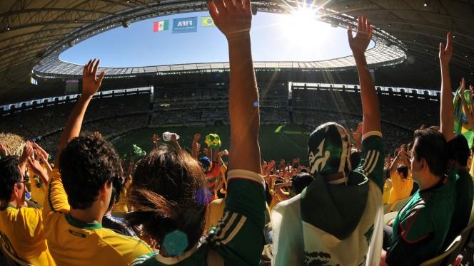 Acompanhe a Copa sem precisar estar no estádio