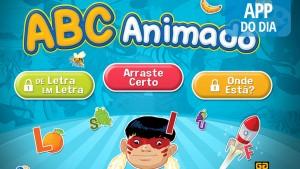 App do dia: ABC Animado, um jeito divertido de aprender o abecedário