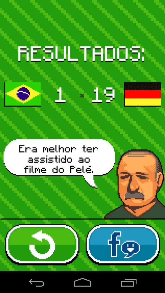 Felipão em momento de Chaves pós-derrota