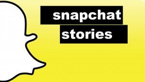 Como adicionar fotos no Snapchat Story
