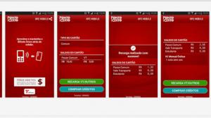 Aplicativo permite recarga de bilhetes de transporte público via celular
