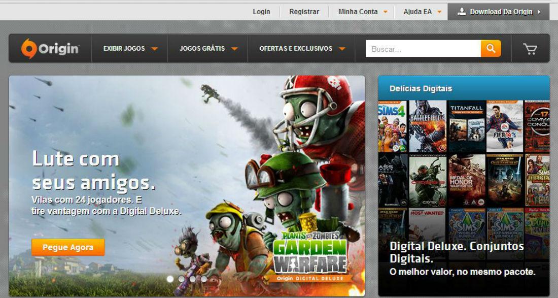 Loja online de jogos da Electronic Arts faz promoção de títulos clássicos