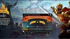 Age of Empires ganha uma versão para telas touchscreen. Confira o trailer