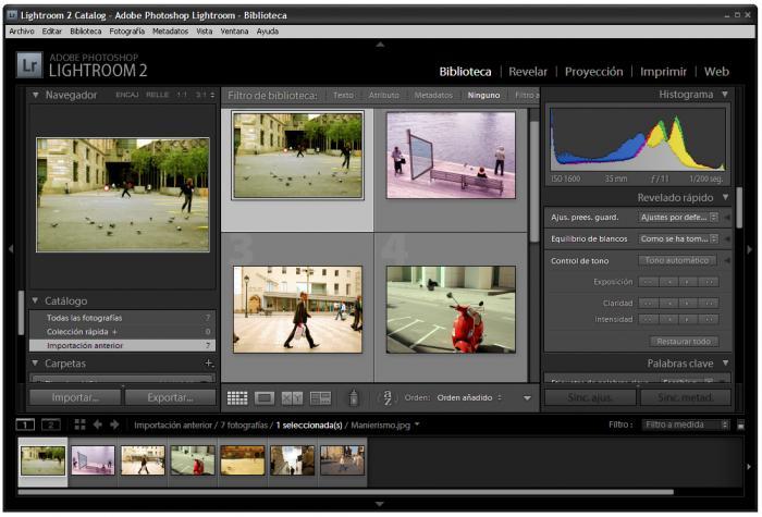 Adobe Photoshop Lightroom é mais simples mas também poderoso