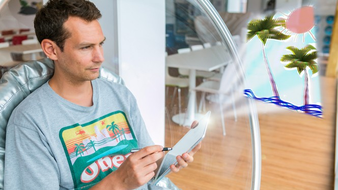 Produção criativa iPad iPhone em 1 hora