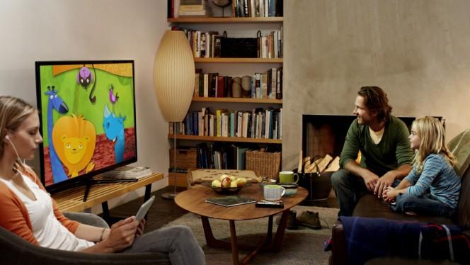 TV Online no tablet ou celular