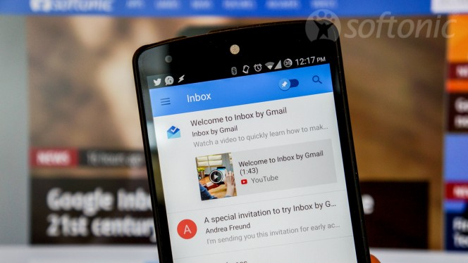 Google Inbox hands on