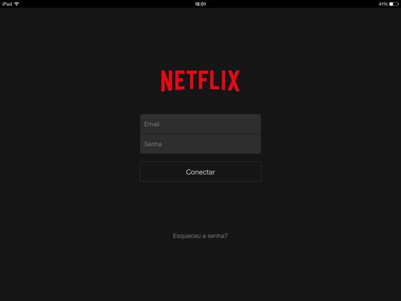 Faça login na Netflix