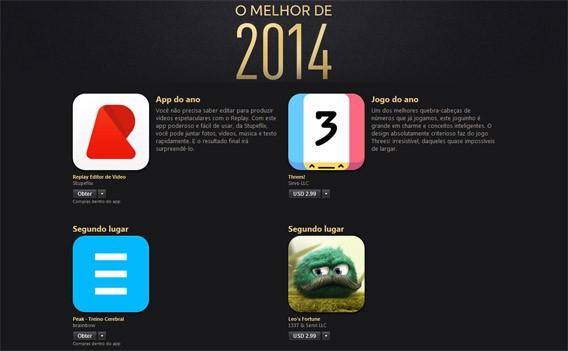 Melhores apps e jogos para iPhone e iPad 2014