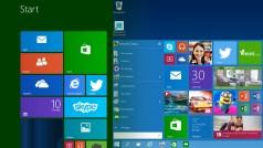 Fenster, Desktop und Startmenü in Windows 8 und Windows 10