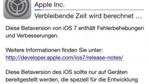 iOS 7 beta 5 mit weiteren Design-Änderungen