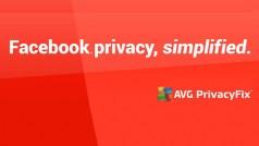 Facebook: AVG PrivacyFix zum Schutz der Privatsphäre