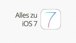 Alles rund um iOS 7
