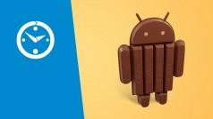 Auf einen Klick: Android KitKat, WhatsApp und Chrome im Video-Überblick