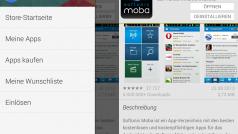 Neue Version von Google Play: Version 4.4 mit Seitenleiste