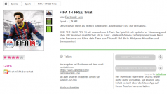 FIFA 14 für Nokia-Handys erschienen