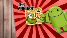 Cut the Rope HD für Android-Smartphones gerade 50 Prozent billiger