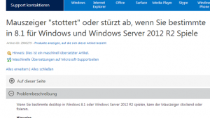 Mauszeiger-Problem bei Call of Duty: Black Ops – Microsoft behebt Windows 8.1-Bug