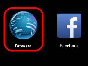 Abra o navegador do BlueStacks Player