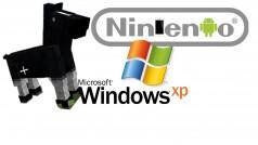 Nintendo auf Smartphones, Minecraft nachgebaut, Windows XP in Berliner Ämtern