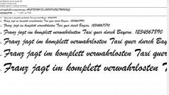 Hinzufügen und Entfernen von Schriftarten in Windows