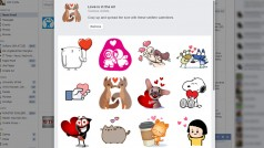 Facebook Sticker zum Valentinstag – Love is in the Air
