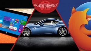 Apple bringt CarPlay ins Auto, Microsoft probiert kostenlose Windows-Version, Mozilla startet Plugins per Klick