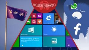 Windows 8.1 Update 1 geleakt, Verbraucherschützer gegen WhatsApp, Facebook-Neuigkeiten im neuen Look