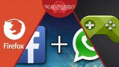 Mozilla stellt Firefox Metro ein, Facebook übernimmt WhatsApp-Sicherheit, Google Play Games