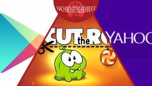 Cut the Rope 2 für Android, Yahoo konkurriert mit YouTube, Google verbannt Erotik aus dem Play Store