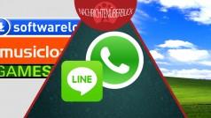 Rekorde bei WhatsApp und Line, Telekom stellt Musicload ein, Windows XP stirbt nicht