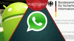 Android Launcher Sicherheitslücke, WhatsApp Messenger, BSI warnt vor Phishing-Mails