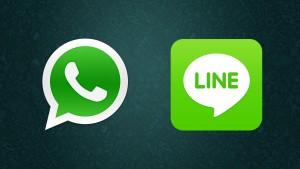 Kein Aprilscherz: WhatsApp und Line brechen eigene Nutzerrekorde