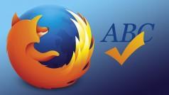 Rechtschreibprüfung in Firefox: So fügen Sie Wörterbücher hinzu