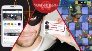News des Tages: Kaspersky warnt vor Trojanern, neue Level für Plants vs. Zombies 2, Aviate Launcher