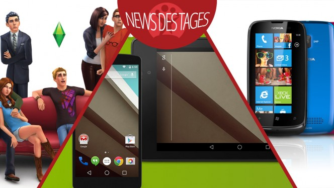 Softonic News des Tages: Android L und Android Wear, Skype für Windows Phone, Die Sims 4