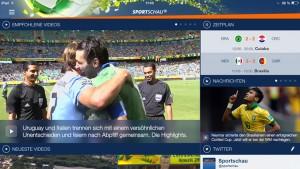 Sportschau FIFA WM: Die ARD-App bringt Fußball-Genuss mit wählbaren Kameraperspektiven