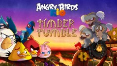 Angry Birds Rio: Neue Level und Booster mit dem Timber Tumble-Update