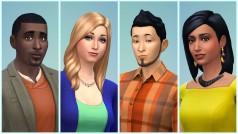 Die Sims 4: Erstelle einen Sim-Funktion zeigt Bearbeitungsmöglichkeiten der Spielfiguren