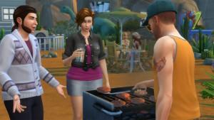 Die Sims 4: Die Basis-Version des Spiels enthält die Wüstenstadt Oasis Springs