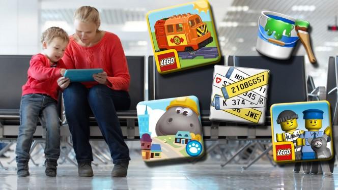 Kinder-Apps für die Reise