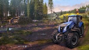 Landwirtschafts-Simulator 15: Erste Bilder zeigen den neuen Fuhrpark und die Forstwirtschaft