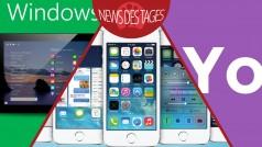 News des Tages: Vorab-Version von Windows 9, Update auf iOS 7.1.2, Yo für Windows Phone