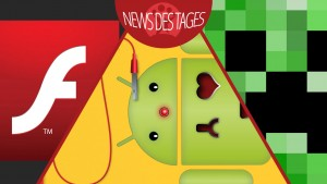 News des Tages: Adobe Flash Player-Update, Android Daten-Wiederherstellung, Minecraft