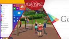 News des Tages: Windows 9 mit Start-Menü, Google Play Store-Design, Die Sims 4-Welten