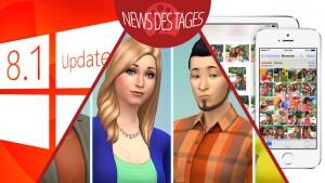 News des Tages: Windows 8.1 Update 3, iOS 8 und iPhoto, Die Sims 4 für PC